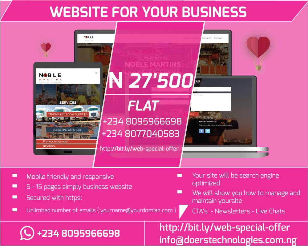 Website and Blog For Your Business At A Cost You Can Afford