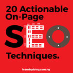 20 OnPage SEO Actionable Techniques you can use today to rank Higher